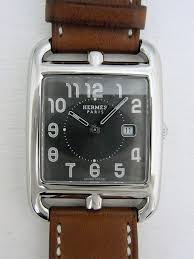 pre owned hermes cape cod cc2 710 watch 184 for sale timepeaks