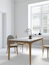 Kitchen Dining Furniture by Lars Dining Table Mid Century Modern Kure Collection