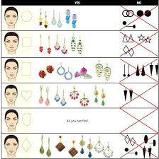 face shapes and hairstyles to match how to match earrings to face type and hair style short hair