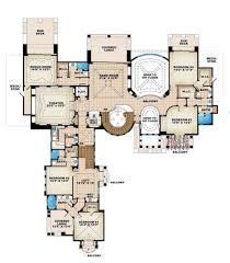 mediterranean style house plan 6 beds 8 50 baths 10178 sq ft