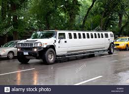 hummer limousine stretched hummer limousine in nyc stock photo royalty free image