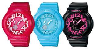 Jam Tangan Casio Remaja jam tangan untuk remaja casio baby g neon illuminator jam casio