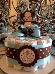 Baby Monkey Centerpieces by Jackie U0027s Party Creations Jungle Themed Centerpieces And Table