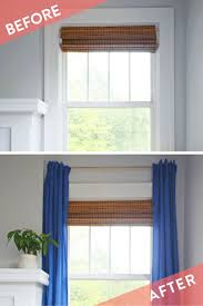 how to simple renter friendly window treatment curbly