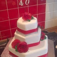 ruby wedding cake fruit u0026 sponge the great british bake off