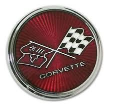 76 corvette parts 75 76 corvette nose emblem trim parts 2105 mde with glass