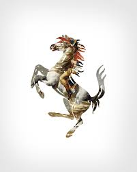 ferrari horse logo the logo and fine art mashups of eisen bernardo brands of the