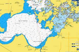 Waterfowl Migration Map Navionics Lakemap On Lakeofthewoodsmn Com Lake Of The Woods