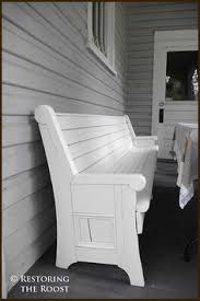 Church Pew Home Decor Repurposed Church Pew I Have An Obsession With Pews And Want