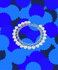 multi heart bracelet images Tiffany new heart tag charm bracelet teen girl jewelry png