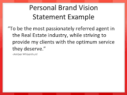 Branding Statement Resume Examples by Developing Your Personal Brand