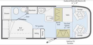 type b motorhome floor plans 100 winnebago travel trailers floor plans 100 rv floor plan