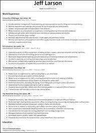 executive assistant resume templates saneme