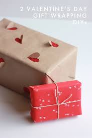 Ideas Of Gift Wrapping - 2 simple valentine u0027s day gift wrapping ideas the house that lars