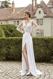 33 Wedding Dresses With A Slit Weddingomania