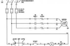 hoa wiring schematic eaton magnetic starter wiring diagram
