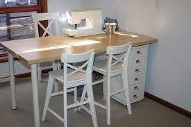 ingo ikea hack sew at home mummy tutorial ikea hack the ingo sewing table for