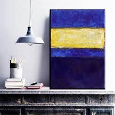 Wohnzimmer Orange Blau Online Kaufen Großhandel Rothko Kunst Aus China Rothko Kunst