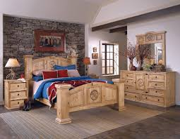 Pine Bed Set Style 6pc Bedroom Set Made With 100 Solid Ponderosa Pine