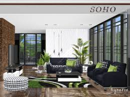 soho living room by nynaevedesign at tsr sims 4 updates