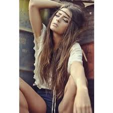 long hair equals hippie tumblr girls polyvore