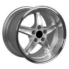 98 mustang cobra wheels oe wheels 8181906 mustang cobra r 98 dish wheel size 17 x