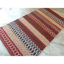 Cotton Chenille Rug Better Homes And Gardens Diamond Stripe Cotton Chenille Accent Rug