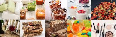 applications cuisine allandetrobert applications acacia gum products