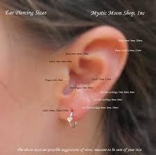 cartilage hoop earring how to put in tiny hoop earrings l mystic moon