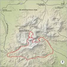 Continental Divide Map Best Big Bend National Park Hike Trail Map National Geographic