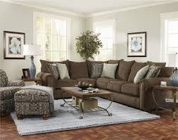 Small Brown Sectional Sofa Impressive Alluring Brown Sectional Sofas With Beautiful Sofa In