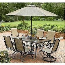 Folding Patio Set With Umbrella Home Design Fancy Outdoor Patio Dining Sets With Umbrella Cream