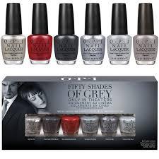 fifty shades of grey opi colors u2013 celebrity fashion u0026 perfume