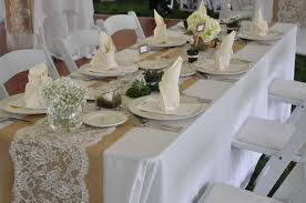 Banquet Table Weddings