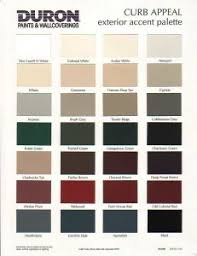 what you can have from duron paint color chart