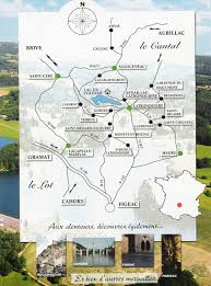 Map South Of France by Southern France Tourist Map Figeac France U2022 Mappery