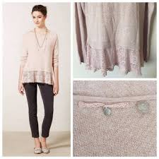 Blush Pink Cardigan 69 Off Anthropologie Sweaters Anthropologie Blush Pink Bloom