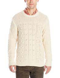 gant rugger men u0027s r chunky cable sweater vanilla large for sale