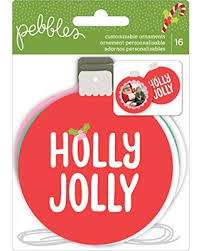 bargains on american crafts 733141 ornaments pebbles jolly