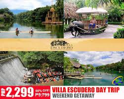 Villa Escudero Expressdeal A Whole New World Travel Express