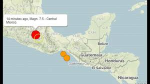 Mexico City World Map by Powerful Earthquake Rocks Mexico City And Surrounding Areas Youtube