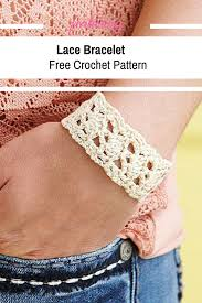 bracelet crochet pattern images Quick and beautiful crochet bracelet pattern knit and crochet daily png