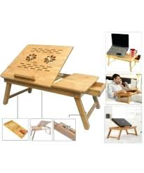foldable study desk multipurpose wooden laptop table study table