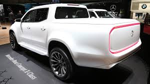 mercedes truck white mercedes benz says there u0027s no business case for x class in u s