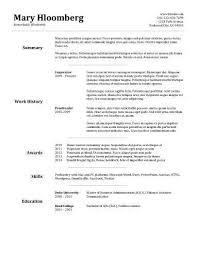 Resume Of Business Development Executive Sweet Looking Quick Resume Template 12 Business Development