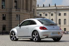 volkswagen bug 2012 2012 reflex silver vw beetle turbo 3q rear view eurocar news