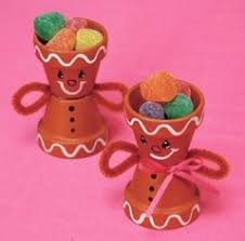 Decorating Clay Pots Kids 13 Best Christmas Ornaments Clay Pot Images On Pinterest Clay