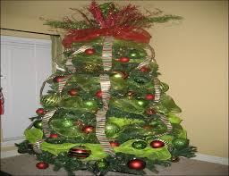 christmas mesh ribbon christmas tree decorating ideas mesh ribbon home furniture and