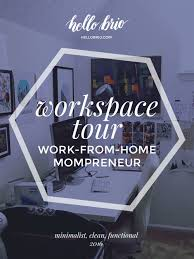 Minimalist Home Tour Home Office And Desk Tour For An Illustrator Writer Work From