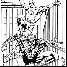 beautiful spider man coloring pages with spiderman coloring page